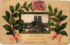 De Rennes Recevez mes Voeux de Bonne Année 35 Rennes