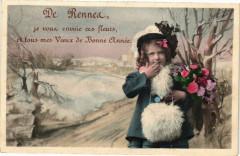De Rennes je vous envoie ces fleurs et tous mes Voeux de Bonne 35 Rennes