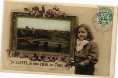 De Rennes je vous envoie ces fleurs 35 Rennes