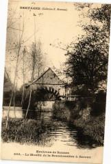 Bretagne-Env. de Rennes - Le Moulin de la Bourdonniere a Servan 35 Rennes