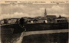 Sainte-Sigolene - Vue générale prise de la Croix du Rameau (alt 808 - Sainte-Sigolène