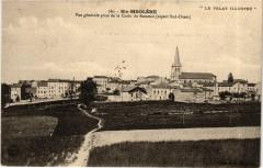 Sainte-Sigolene Vue générale prise de la Croix de Rameau (aspect Sud - Sainte-Sigolène