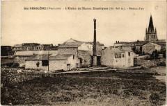 Sainte-Sigolene - L'Usine de Tissus Elastiques (Alt 808 m - Sainte-Sigolène