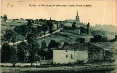 Saint-Pal-de-Chalencon - Route d'Usson et Apinac - Saint-Pal-de-Chalencon