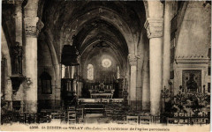 Saint-Didier-en-Velay - L'interieur de l'Eglise paroissiale - Saint-Didier-en-Velay