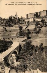 Saint-Privat-d'Allier - Le Pont neuf le Rouchoux - L'Eglise - Saint-Privat-d'Allier