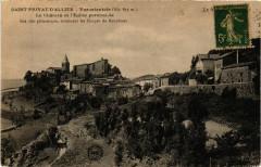 Saint-Privat-d'Allier - Vue Orientale - Le Chateau et l'Eglise - Saint-Privat-d'Allier