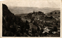 Saint-Privat-d'Allier - Vue générale - Le Chateau - L'Eglise - Saint-Privat-d'Allier