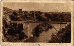 Vieille-Brioude - Env. de Brioude - Vue générale et Pont - Vieille-Brioude