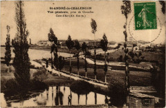 Saint-Andre-de-Chalencon - Vue générale - prise de Chazelles - Saint-André-de-Chalencon