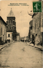 Saint-Georges-d'Aurac - La Grande-Rue - Saint-Georges-d'Aurac