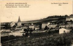 Saint-Julien-Molhesabate - Vue générale Sud-Est - Saint-Julien-Molhesabate