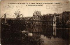 Le Chateau de Margeaix et le Pont pres de la Gare de Saint-Vincent - Saint-Vincent