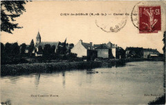 Ciry le Noble Canal du Centre - Ciry-le-Noble