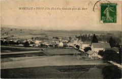 Marcilly-sur-Tille Vue générale prise du Mont - Marcilly-sur-Tille