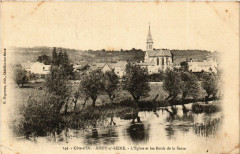 Aisey-sur-Seine - L'Eglise et les Bords de la Seine - Aisey-sur-Seine