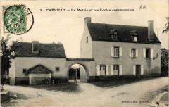 Trévilly - La Mairie et les Ecoles communales - Villy