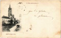 Saint-Pere pres Avallon le ... - Eglie de Saint-Pere - Saint-Père