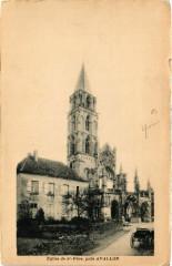Eglise de Saint-Pere pres Avallon - Saint-Père