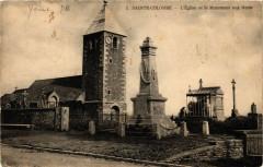 Sainte-Colombe - L'Eglise et le Monument aux Morts - Sainte-Colombe
