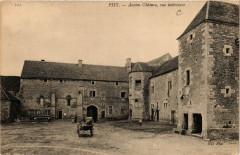 Pisy - Ancien Chateau vue intérieure - Pisy