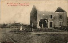 La Guerre dan les Vosges 1914-1915 - Saint-Remy - Un Coin du Village - Saint-Remy