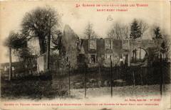 La Guerre de 1914-15-16 dans les Vosges - Saint-Remy - Saint-Remy