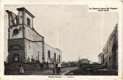 La Guerre dans les Vosges 1914-1915 - Saint-Remy - L'Eglise - Saint-Remy