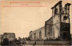 La Guerre de 1914-1915 dans les Vosges Saint-Remy-Eglise incendiee - Saint-Remy