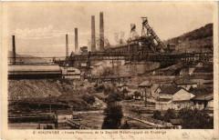 Knutange Hauts-Fourneaux de Societe Metallurgique de Knutange - Knutange