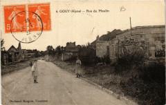 Gouy. Rue du Moulin - Gouy