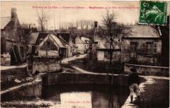 Coucy-le-Chateau Septvaux. La Rue de la Basse - Septvaux