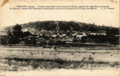 Tréloup. Vue de Courcelles et du Coteau de Danon - Urcel