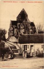 Septvaux. L'Eglise. L'Escalier - Septvaux