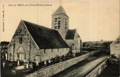 Eglise de Sergy pres Fere-en-Tardenois - Sergy
