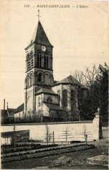 Rozet Saint-Albin. L'Eglise - Rozet-Saint-Albin