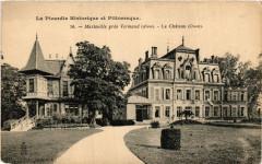 Marteville pres Vermand. Le Chateau - Vermand