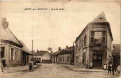 Crépy en Laonnois. Rue de Laon - Crépy