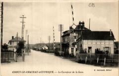 Coucy-le-Chateau-Auffrique Le Carrefour de la Gare - Coucy-le-Château-Auffrique