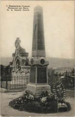 Gamaches Monument aux Morts - Gamaches