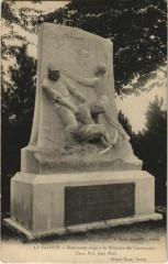 La Faloise Monument a la Mémoire des Cantonniers - La Faloise
