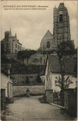Domart-en-Ponthieu Eglise et Anciennes Fortifications - Domart-en-Ponthieu