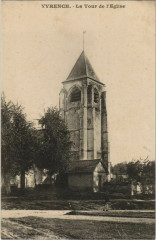 Yvrench Tour de l'Eglise - Yvrench