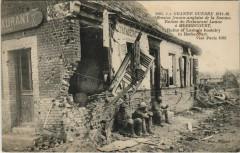 Guerre Military Herbecourt Ruines du Restaurant Lanne - Herbécourt
