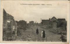 Guerre Military Roisel Grande Rue - Roisel