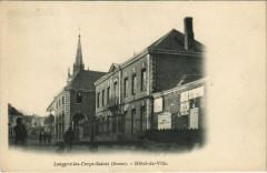 Longpre-les-Corps-Saintes - Hotel-de-Ville - Long