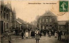 Berteaucourt-les-Dames - Rue Saint-Jean-Baptiste - Berteaucourt-les-Dames