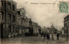 Fressenneville - La Mairie et le Papillon d'Or - Fressenneville