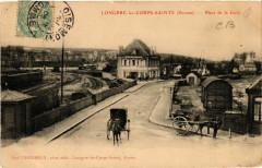 Longpre-les-Corps-Saintes - Place de la Gare - Long