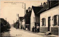 Mareuil-Caubert par Abbeville - Grande-Rue - Mareuil-Caubert
